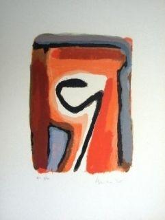 Литография Van Velde - Mp 264