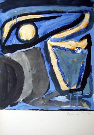 Литография Van Velde - MP 65 -Musée national d'Art moderne