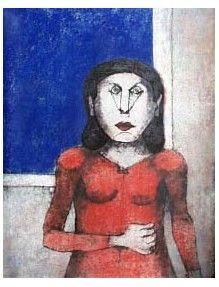 Сериграфия Tamayo - Mujer Enojada