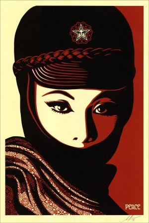 Сериграфия Fairey - Mujer Fatale