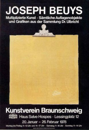 Гашение Beuys - Multiplizierte kunst