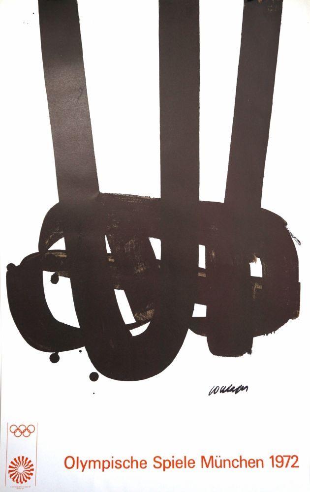 Литография Soulages - Munich 72