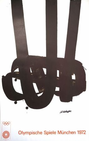 Литография Soulages - Munich 72