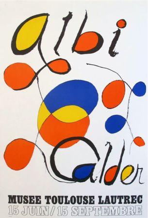 Литография Calder - '' Musée Toulouse Lautrec ''