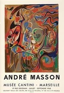 Литография Masson - Musee Cantini, Mourlot
