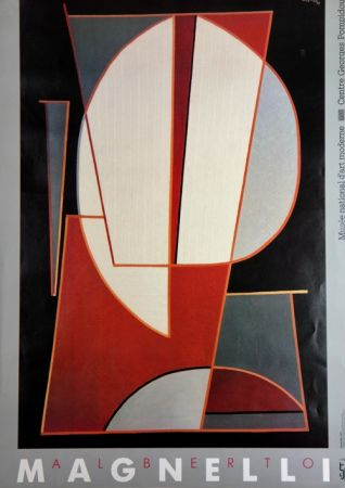 Гашение Magnelli - Musee National D'Art Moderne