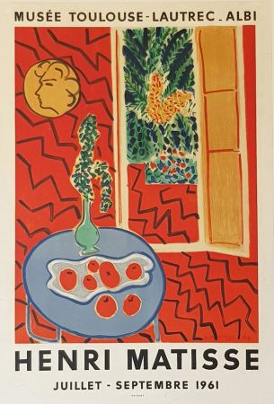 Литография Matisse - Musee Toulouse Lautrec  Albi