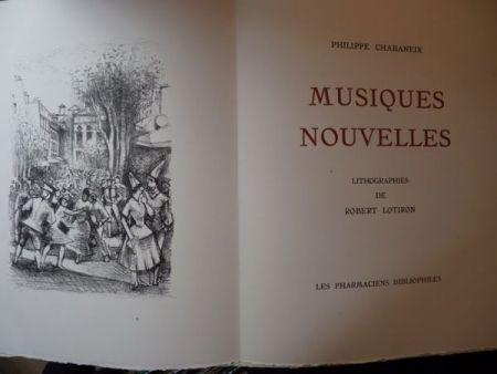 Иллюстрированная Книга Lotiron - Musiques nouvelles