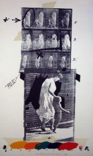 Литография Velickovic - Muy bridge