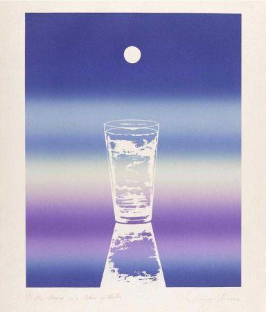 Литография Rosenquist - My mind is a glass of water
