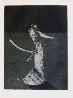 Гравюра Scholder - Mystery Portrait in Barcelona 1