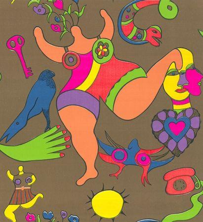 Сериграфия De Saint Phalle - Nana