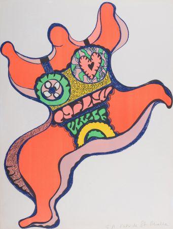 Литография De Saint Phalle - Nana, 1971. Lithographie signé.