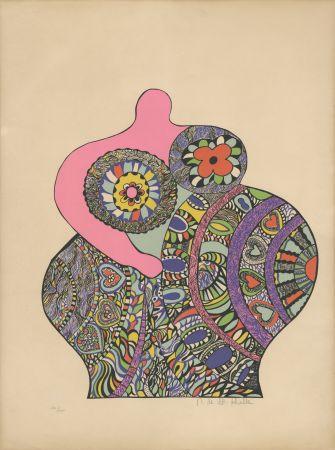 Сериграфия De Saint Phalle - Nana Power : Nana II