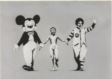 Сериграфия Banksy - Napalm