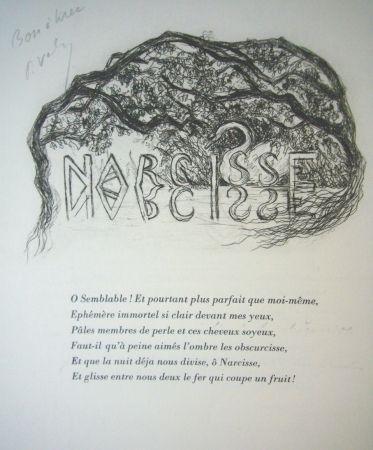 Гравюра Сухой Иглой Valery - Narcisse