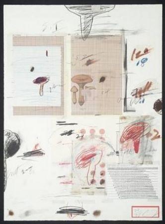 Литография Twombly - Natural History Part I: Mushrooms IV