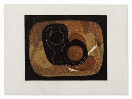 Трафарет Braque - NATURE MORTE, 1931-1933