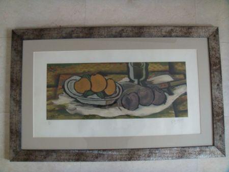 Многоэкземплярное Произведение Braque - Nature Morte aux fruits