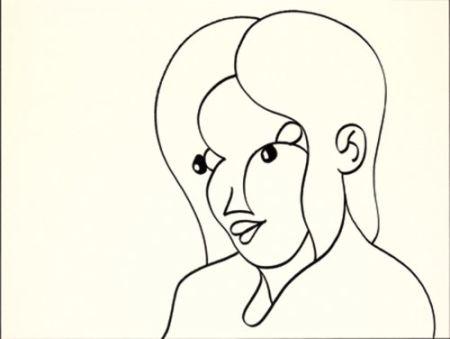 Литография Macías - Negro 1