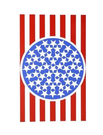 Сериграфия Indiana - New glory banner