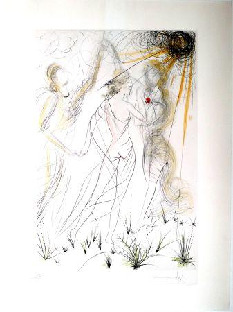 Гравюра Dali - New Mythological Suite/ Le Printemps (8)