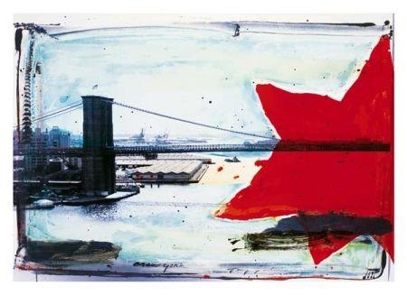 Гравюра Soulie - NEW YORK