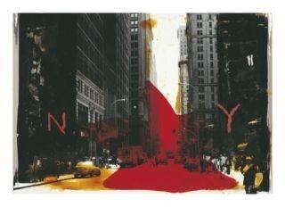 Цифровой Эстамп Soulie - NEW YORK