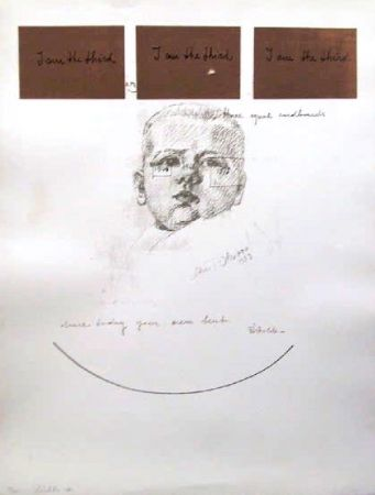 Сериграфия Pistoletto - No. 6 from I am the Third Portfolio