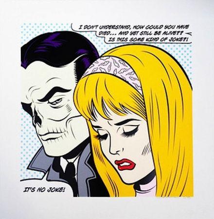 Сериграфия D-Face - No Joke