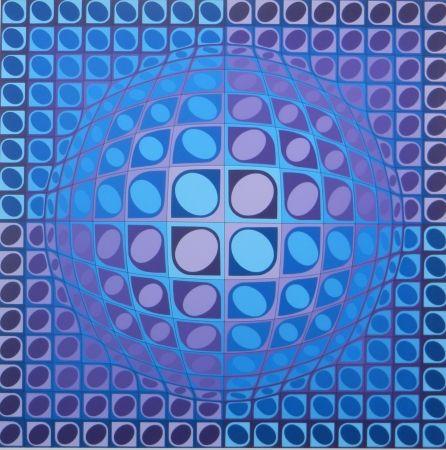 Сериграфия Vasarely - No title