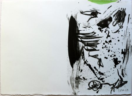 Литография Jorn - No Title