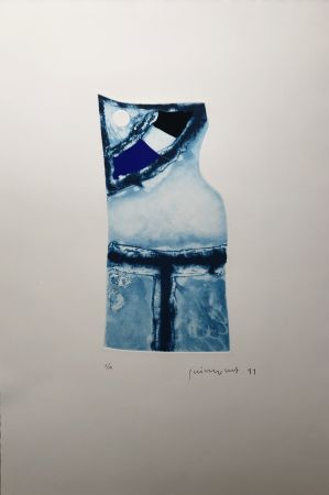 Гравюра Guinovart - Nocturn 2