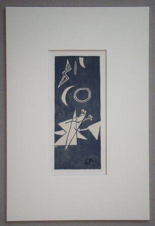 Литография Braque (After) - Nocturne