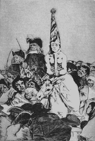 Офорт И Аквитанта Goya - Nohubo Remedio