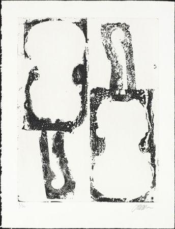 Офорт Arman - Noir et Blanc