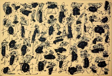 Литография Saura - Nombre de curés, Planches 1