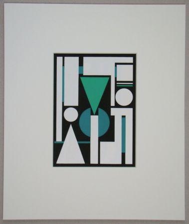 Сериграфия Herbin - Non, 1951