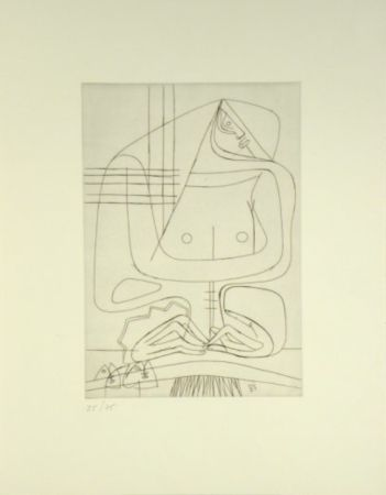 Гравюра Le Corbusier -