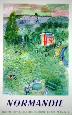Литография Dufy - Normandie