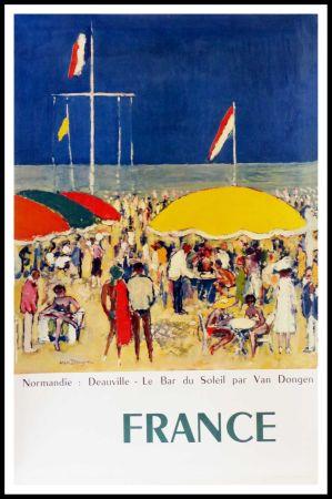 Гашение Van Dongen - NORMANDIE DEAUVILLE LE BAR AU SOLEIL