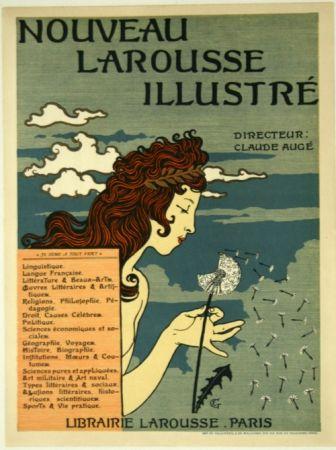 Литография Grasset - Nouveau Larousse Illustré