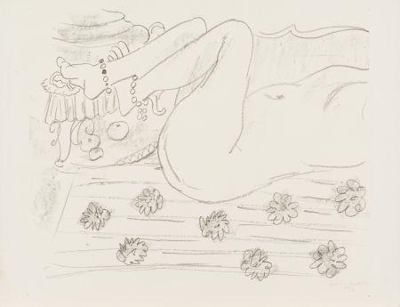 Литография Matisse - Nu. Étude d'un mouvement de jambes
