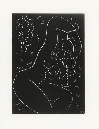 Линогравюра Matisse - Nu au Bracelet