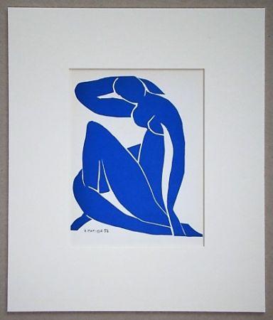 Литография Matisse - Nu Beu - 1952