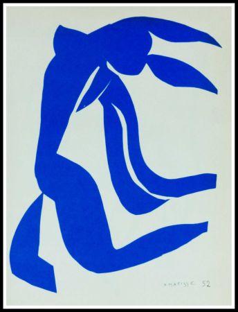 Литография Matisse (After) - NU BLEU VII