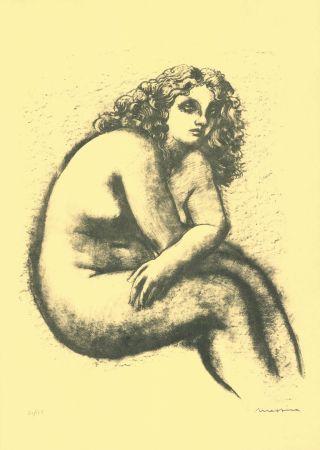 Литография Messina - Nude