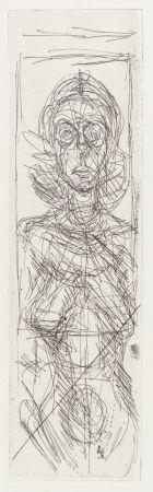 Гравюра Giacometti - Nude in Profile