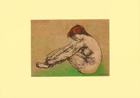 Литография Messina - Nudo / Nude