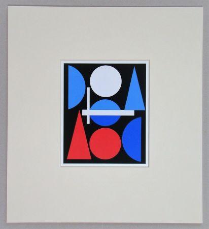 Сериграфия Herbin - Nue - 1960